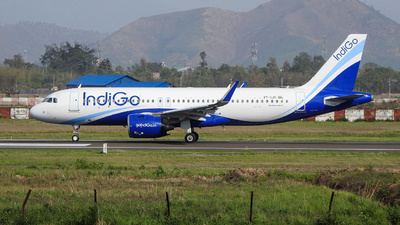 A picture of VTIJH - Airbus A320271N - IndiGo - © norris_haobam