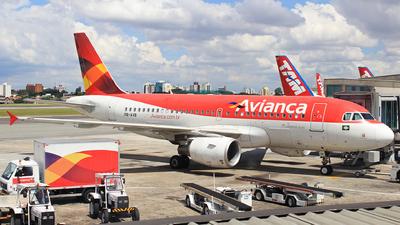 PR-AVB - Airbus A319-115 - Avianca Brasil