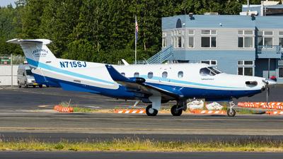 N715SJ - Pilatus PC-12/45 - Iliamna Air Taxi