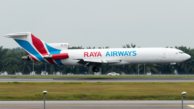 9M-TGE - Boeing 727-247(Adv)(F) - Raya Airways