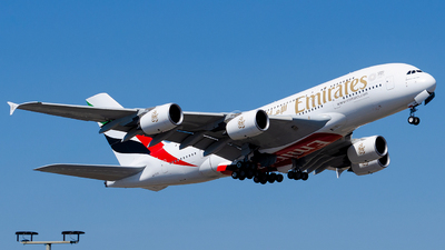 A6-EUR - Airbus A380-842 - Emirates