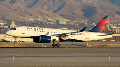 A picture of N120DU - Airbus A220100 - Delta Air Lines - © Michael Rodeback