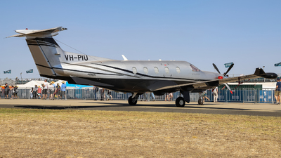 VH-PIU - Pilatus PC-12/47E - Private