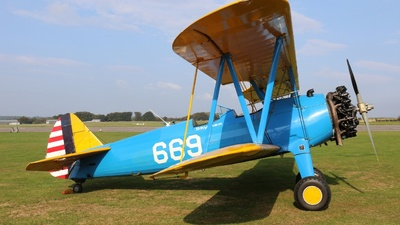 G-CCXA - Boeing A75N1 Stearman - Skymax Aviation