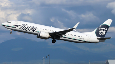 A picture of N520AS - Boeing 737890 - Alaska Airlines - © Xiamen Air 849 Heavy