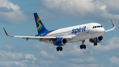 A picture of N634NK - Airbus A320232 - Spirit Airlines - © Mark Lawrence