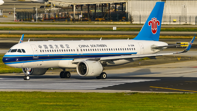 A picture of B301W - Airbus A320251N - China Southern Airlines - © Jhonson541