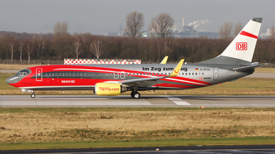 D-ATUC - Boeing 737-8K5 - TUIfly