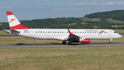 OE-LWN - Embraer 190-200LR - Austrian Airlines