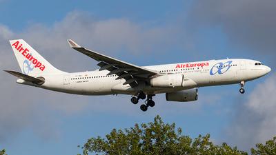 EC-MAJ - Airbus A330-243 - Air Europa