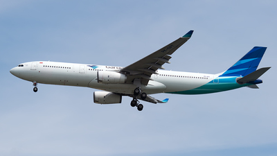 PK-GPT - Airbus A330-343 - Garuda Indonesia