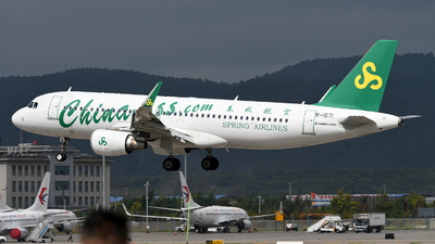 B-1671 - Airbus A320-214 - Spring Airlines