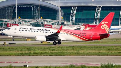 B-5380 - Boeing 737-87L - Shenzhen Airlines
