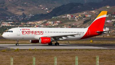 EC-MUK - Airbus A320-214 - Iberia Express