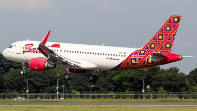 PK-LAS - Airbus A320-214 - Batik Air