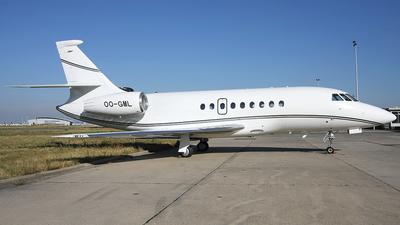 OO-GML - Dassault Falcon 2000EX - Abelag Aviation