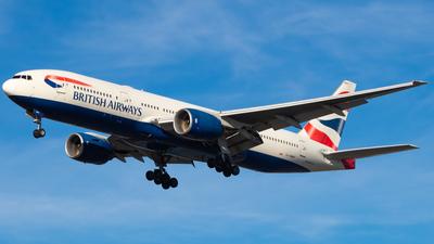 A picture of GYMMT - Boeing 777236(ER) - British Airways - © CJMAviation