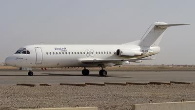 ZS-JES - Fokker F28-4000 Fellowship - SkyLink Arabia