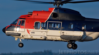 G-PUME - Aérospatiale AS 332L Super Puma - CHC Helicopters