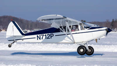 N712P - Piper PA-12 Super Cruiser - Private