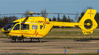 G-HEMC - Eurocopter EC 145T2 - Babcock Mission Critical Services Onshore