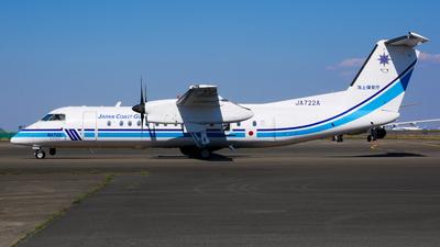 JA722A - Bombardier Dash 8-Q315 - Japan - Coast Guard