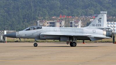 16-225 - Pakistan JF-17 Thunder - Pakistan - Air Force