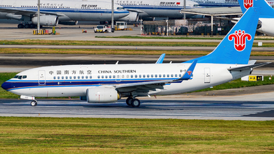 A picture of B5283 - Boeing 73771B - China Southern Airlines - © Miaomiao