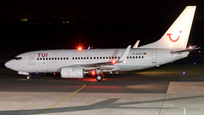A picture of DAHXF - Boeing 7377K5 - [35136] - © Moritz Klöckner