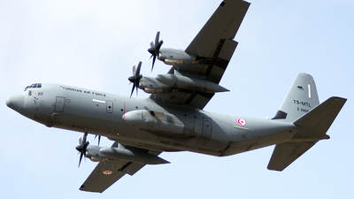 Z21122 - Lockheed Martin C-130J-30 Hercules - Tunisia - Air Force