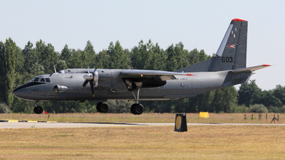 603 - Antonov An-26 - Hungary - Air Force