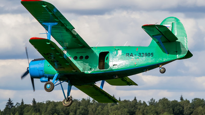 RA-33605 - PZL-Mielec An-2 - Russia - Defence Sports-Technical Organisation (ROSTO)