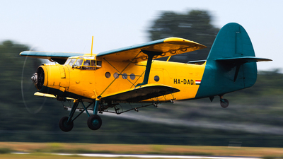HA-DAD - PZL-Mielec An-2 - Private