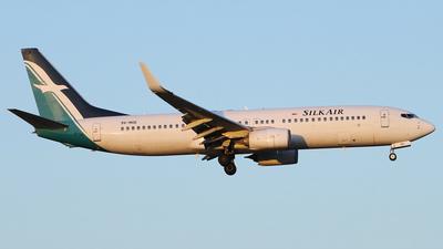 A picture of 9VMGE - Boeing 7378SA - SilkAir - © REDSOX