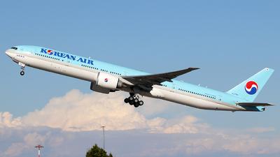A picture of HL7784 - Boeing 7773B5(ER) - Korean Air - © Alberto Cucini