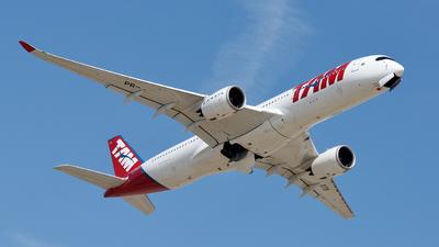 PR-XTB - Airbus A350-941 - TAM Linhas Aéreas