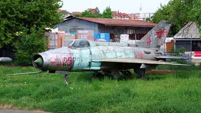 0520 - Mikoyan-Gurevich MiG-21F-13 Fishbed C - Czechoslovakia - Air Force