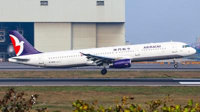 B-MAQ - Airbus A321-231 - Air Macau
