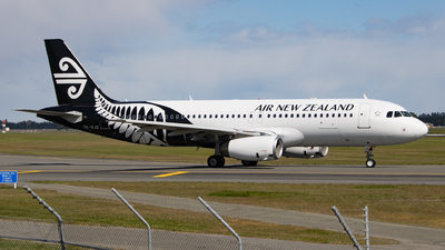 A picture of ZKOJD - Airbus A320232 - Air New Zealand - © Cameron Matthews