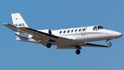 VH-WFE - Cessna 560 Citation V - Australian Corporate Jet Centres