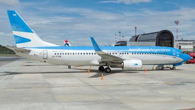 LV-FVM - Boeing 737-8SH - Aerolíneas Argentinas