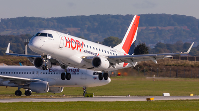 F-HBXH - Embraer 170-100STD - HOP! for Air France