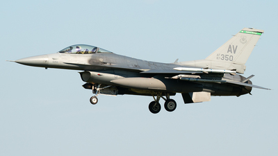 87-0350 - General Dynamics F-16CG Fighting Falcon - United States - US Air Force (USAF)