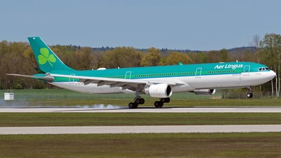 A picture of EIFNG - Airbus A330302 - Aer Lingus - © Hugo Schwarzer