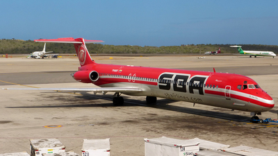 YV485T - McDonnell Douglas MD-83 - Aserca Airlines