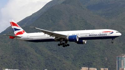 A picture of GSTBL - Boeing 777336(ER) - British Airways - © Jubilant Chan - AHKGAP