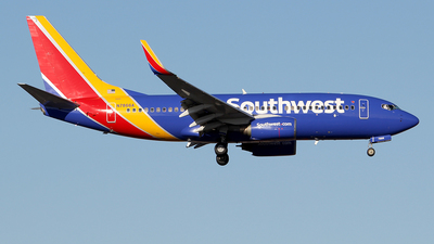 N7866A - Boeing 737-7Q8 - Southwest Airlines