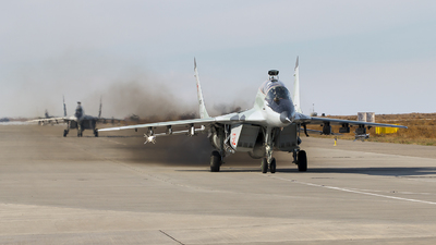 RF-92287 - Mikoyan-Gurevich MiG-29UB Fulcrum B - Russia - Air Force