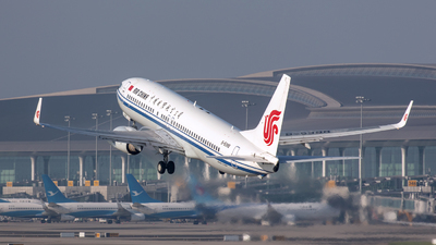 A picture of B5398 - Boeing 73789L - Air China - © Eric Wang