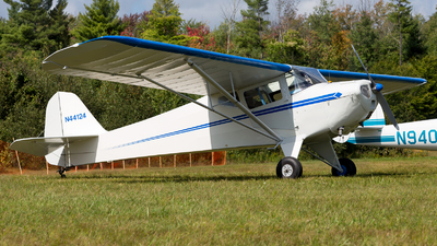 N44124 - Taylorcraft BC-12D - Private